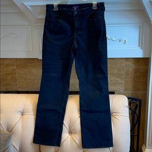 NYDJ Straight Dark Blue Jean